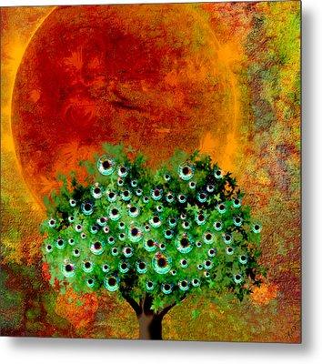 Eye Like Apples Metal Print by Ally  White