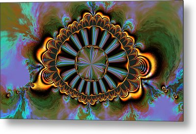 Metal Print featuring the digital art Eye Of Centauris by Claude McCoy