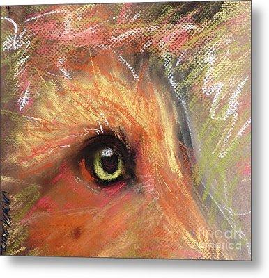Eye Of Fox Metal Print