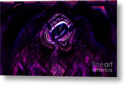 Eye Of The Dream Metal Print by Ashantaey Sunny-Fay
