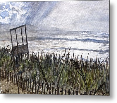 Eye Of The Storm Metal Print by Kevin F Heuman