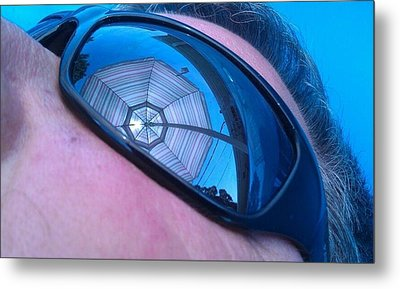 Eye On Summer Metal Print