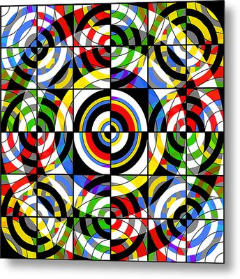 Eye On Target Metal Print