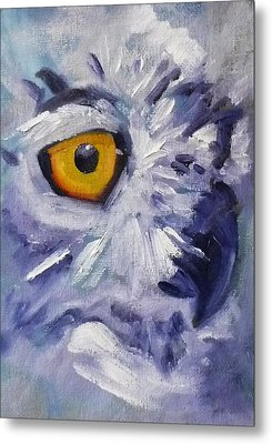 Eye On You Metal Print by Nancy Merkle