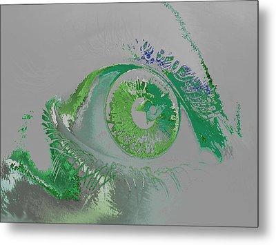 Eye Metal Print by Soumya Bouchachi