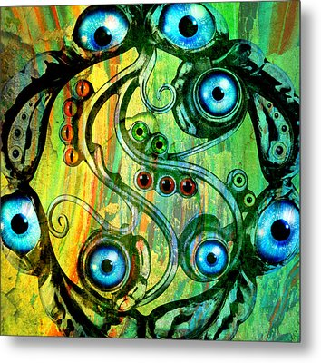 Eye Understand Metal Print by Ally  White