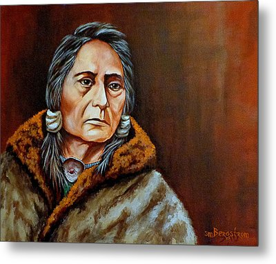 Eyes Of A Nation Metal Print by Susan Bergstrom