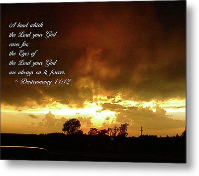 Metal Print featuring the photograph Eyes Of God by Robyn Stacey