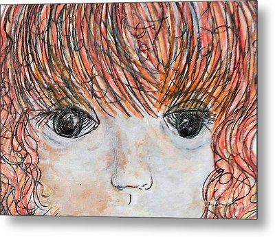 Eyes Of Innocence Metal Print by Eloise Schneider