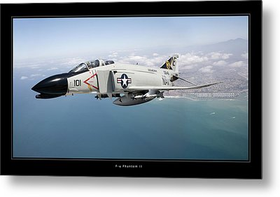 F-4 Phantom II Metal Print by Larry McManus