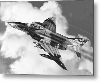F-4e Phantom II Metal Print