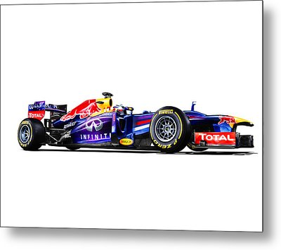 Metal Print featuring the photograph F1 Red Bull Rb9 by Gianfranco Weiss