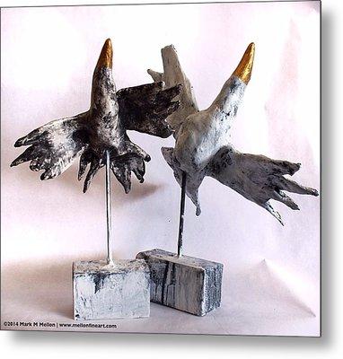 Fabulas Free Birds Metal Print by Mark M  Mellon