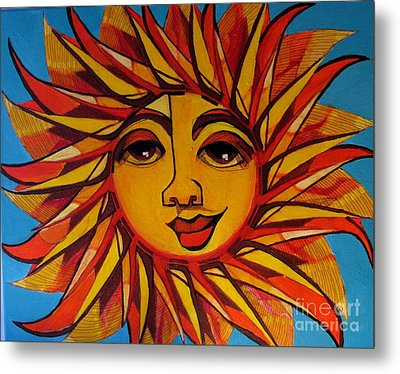 Fabulous Fanny - Here Comes The Sun Metal Print