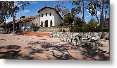 Facade Of A Church, Mission San Luis Metal Print by Panoramic Images