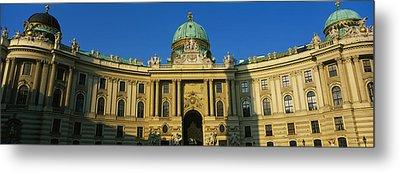 Facade Of A Palace, Hofburg Palace Metal Print