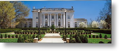 Facade Of The Kentucky Governors Metal Print by Panoramic Images