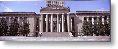 Facade Of The War Memorial Auditorium Metal Print by Panoramic Images