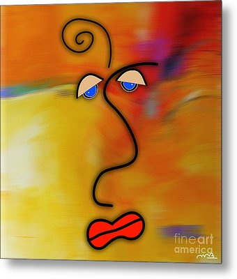 Beauty Is In The Eye Of The Beholder Metal Print