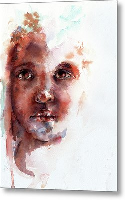 Face Of Africa Metal Print by Stephie Butler