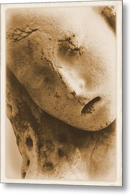 Metal Print featuring the photograph Face Of An Angel by Nadalyn Larsen