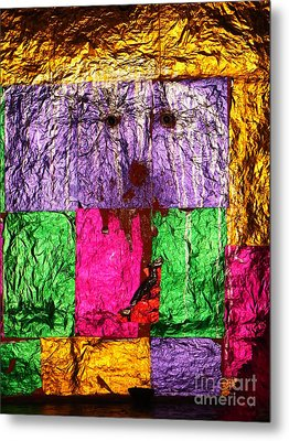 Face Of The Invisible - Ajaypal Temple Metal Print