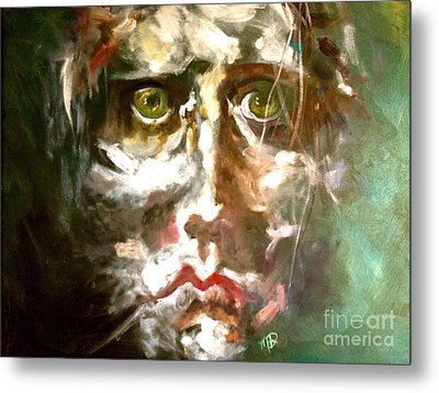 Face Series 2 Metal Print by Michelle Dommer