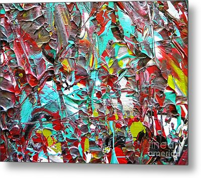 Face To Face Myeloma Metal Print