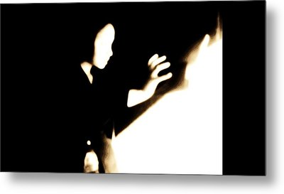 Metal Print featuring the photograph Faceless Magician  by Jessica Shelton