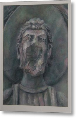 Faceless Saint I  Metal Print by Paez  Antonio