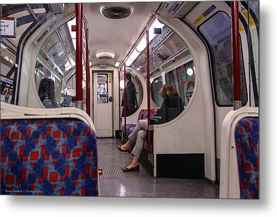 Metal Print featuring the photograph Faceless Strangers by Ross Henton