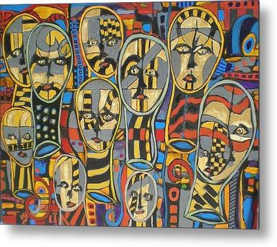 Faces #1 Metal Print