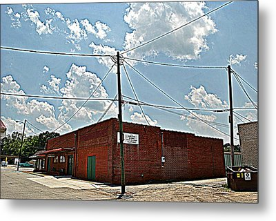 Factory Store Metal Print by Beverly Hammond