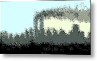 Faded Memory Metal Print by Kosior