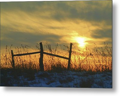 Fading Metal Print by Al  Swasey