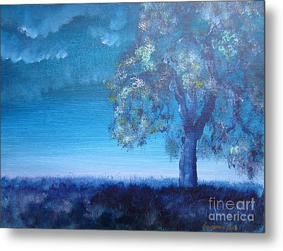 Fading Light Metal Print by Laurianna Taylor
