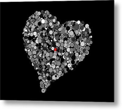 Fading Love Metal Print