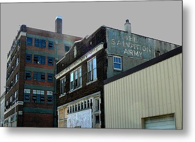 Fading Salvation Metal Print by Lin Haring