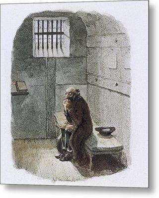 Fagin In Prison Metal Print