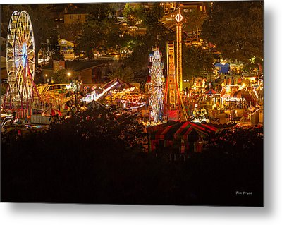 Fair Time In Paso Robles Metal Print
