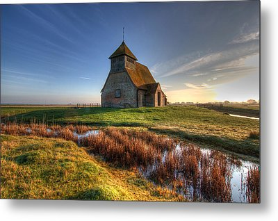 Fairfield Church Metal Print