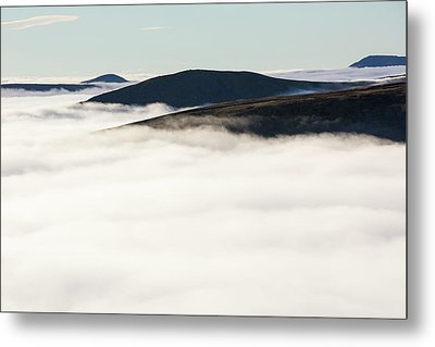 Fairfield From Red Screes Metal Print by Ashley Cooper