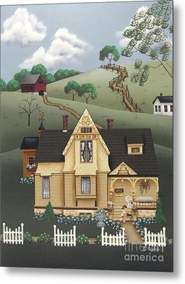 Fairhill Farm Metal Print by Catherine Holman