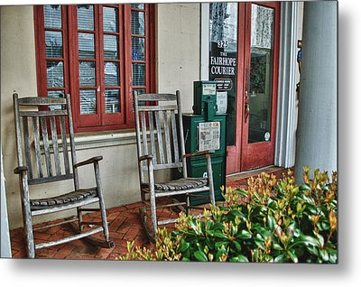 Fairhope Courier Metal Print by Michael Thomas