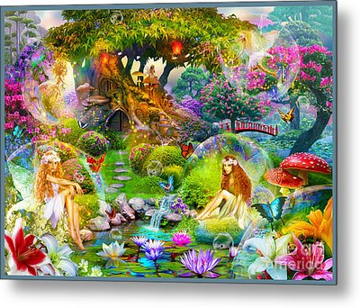 Fairies Metal Print by Jan Patrik Krasny