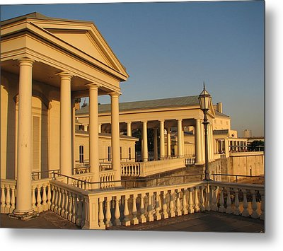 Fairmount Water Works Metal Print by Christopher Woods