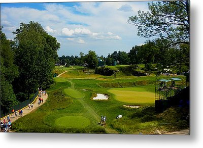 Fairways Greens Metal Print