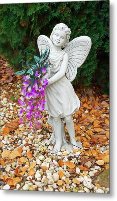 Metal Print featuring the photograph Fairy by Aimee L Maher Photography and Art Visit ALMGallerydotcom
