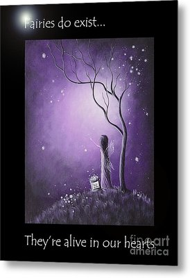 Fairy Art By Shawna Erback Metal Print