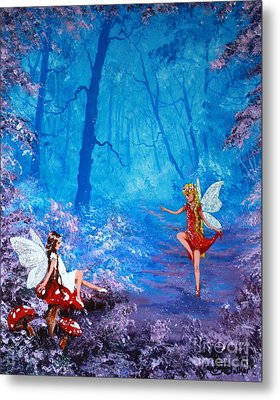Fairy Dancer Metal Print by Jean Walker